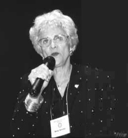 Betty Sembler: President and founder of Drug Free America Foundation, Inc.